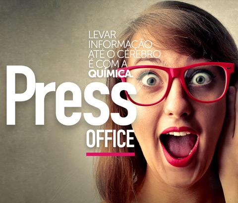 Press Office. Levar informação até o cérebro é com a Química